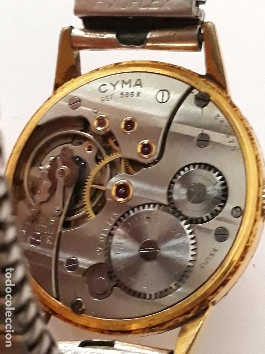 Relojes de pulsera: reloj de pulsera caballero carga manual cyma ref 866 k, 369679 ver descripcion y fotos - Foto 5 - 136201722