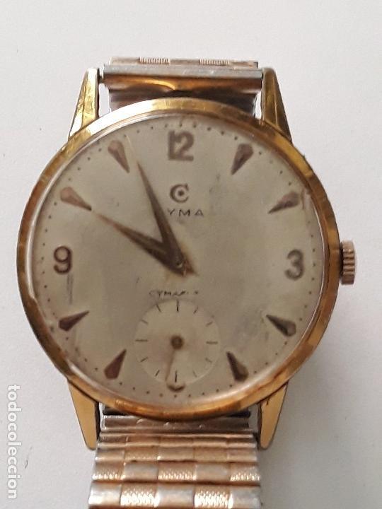 RELOJ DE PULSERA CABALLERO CARGA MANUAL CYMA REF 866 K, 369679 VER DESCRIPCION Y FOTOS (Relojes - Pulsera Carga Manual)