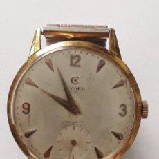 Relojes de pulsera: RELOJ DE PULSERA CABALLERO CARGA MANUAL CYMA REF 866 K, 369679 VER DESCRIPCION Y FOTOS. Lote 136201722