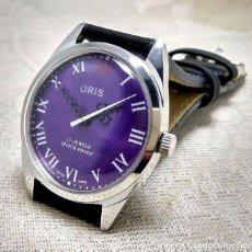 Relojes de pulsera: RELOJ ORIS CABALLERO MANUAL 17 RUBIES. AÑOS 60.PERFECTO. VINTAGE. AUTENTICO. FUNCIONANDO. Lote 136314998