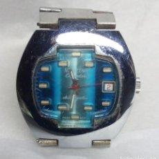Relojes de pulsera: CURIOSO RELOJ VINTAGE ACITIZENO DE CARGA MANUAL, AÑOS 70 - CAJA 4 CM. - FUNCIONANDO. Lote 136384506