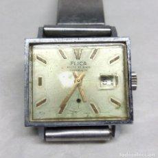 Relojes de pulsera: RELOJ VINTAGE FLICA DE CARGA MANUAL, SWISS MADE - FUNCIONANDO - CAJA 26 MM.. Lote 136479458