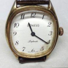 Relojes de pulsera: RELOJ VINTAGE DUWARD DE CARGA MANUAL 17 JEWELS - CAJA 25 MM - FUNCIONA (SE ADELANTA). Lote 136480970