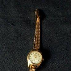 Relojes de pulsera: RELOJ DOGMA PRIMA ANCRE 15 RUBIS - LUNETTE PLAQUE OR G - NO FUNCIONA. Lote 136546998