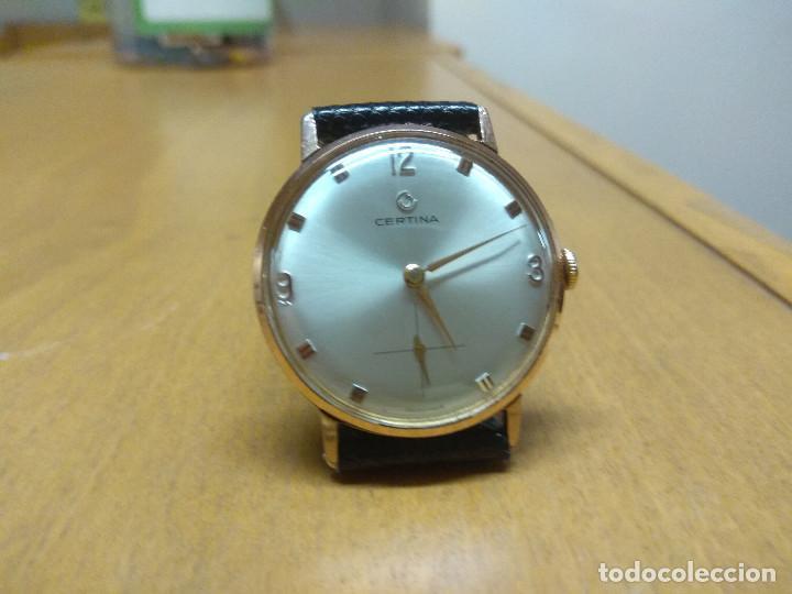 CERTINA 7004 - 182, MUY NUEVO, ENVÍO GRATIS (Relojes - Pulsera Carga Manual)