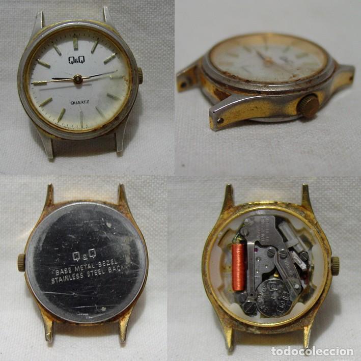 Relojes de pulsera: LOTE 10 RELOJES A PILA-THERMIDOR-DUWARD-REMEX- LACHAUME-Q Q-KORYTRON-CASIO-SEIKO-ARGOM- - Foto 2 - 136856830