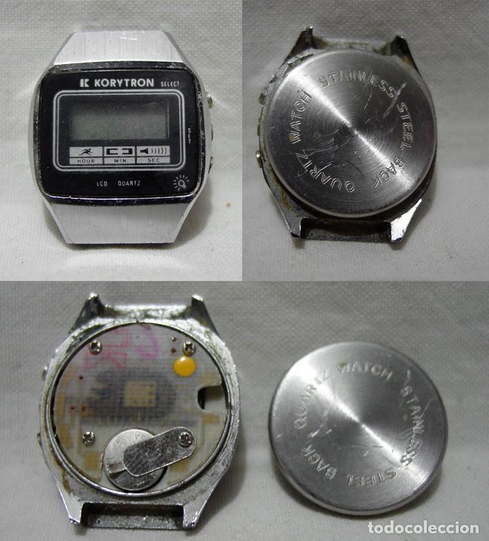 Relojes de pulsera: LOTE 10 RELOJES A PILA-THERMIDOR-DUWARD-REMEX- LACHAUME-Q Q-KORYTRON-CASIO-SEIKO-ARGOM- - Foto 3 - 136856830