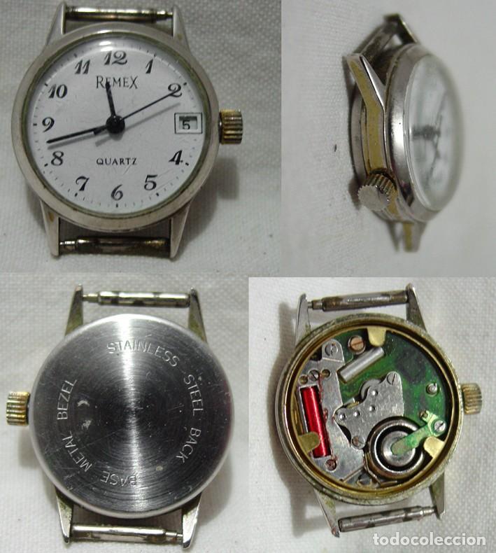 Relojes de pulsera: LOTE 10 RELOJES A PILA-THERMIDOR-DUWARD-REMEX- LACHAUME-Q Q-KORYTRON-CASIO-SEIKO-ARGOM- - Foto 4 - 136856830