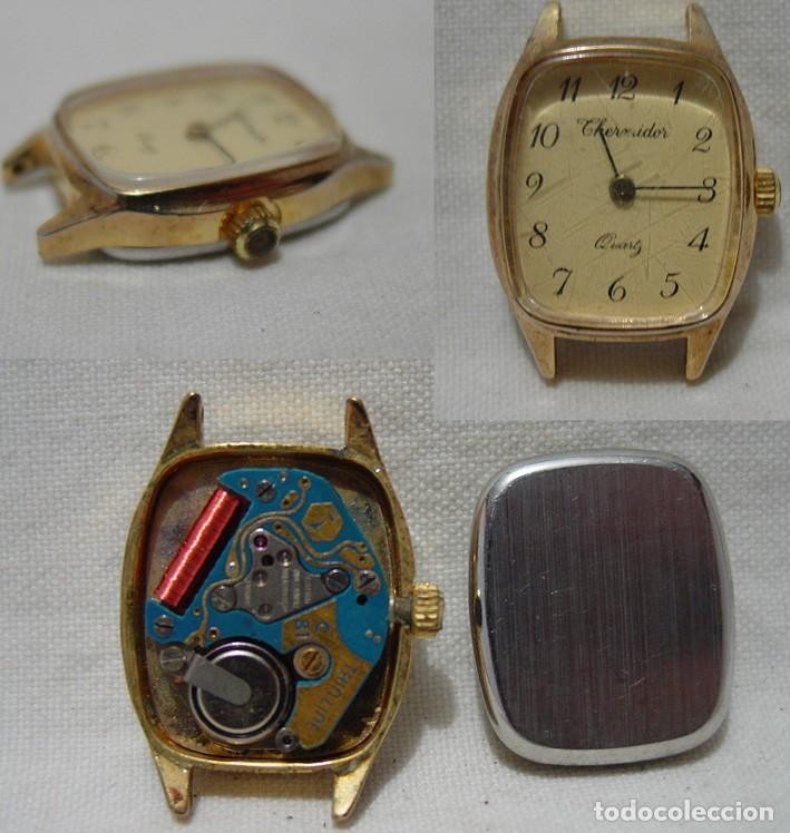 Relojes de pulsera: LOTE 10 RELOJES A PILA-THERMIDOR-DUWARD-REMEX- LACHAUME-Q Q-KORYTRON-CASIO-SEIKO-ARGOM- - Foto 8 - 136856830