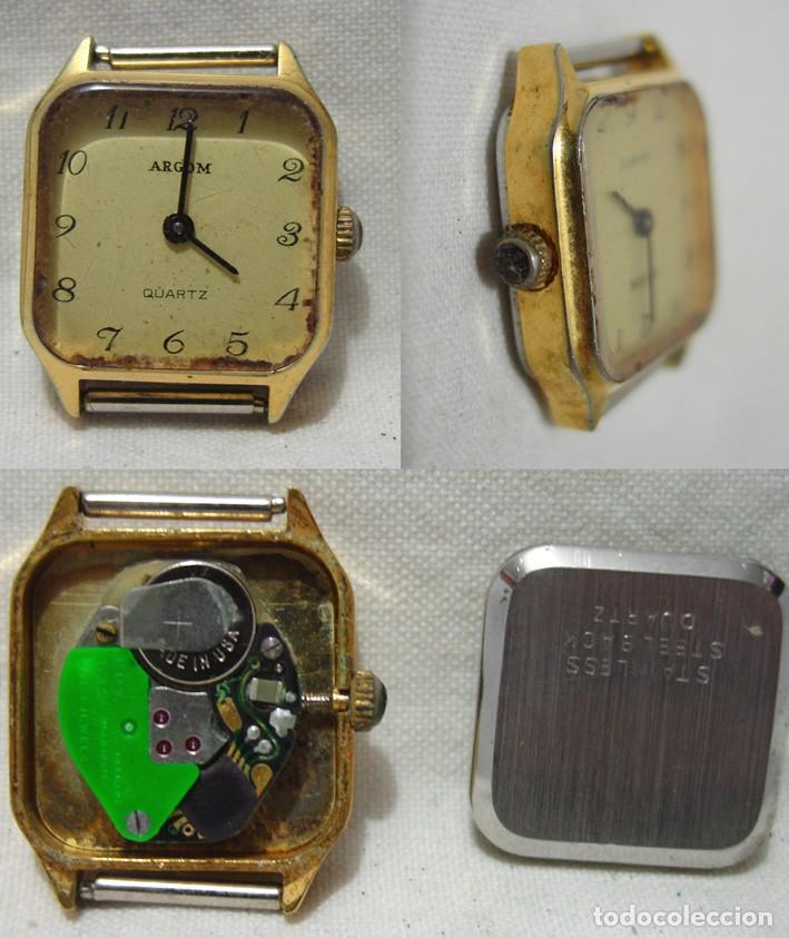 Relojes de pulsera: LOTE 10 RELOJES A PILA-THERMIDOR-DUWARD-REMEX- LACHAUME-Q Q-KORYTRON-CASIO-SEIKO-ARGOM- - Foto 9 - 136856830