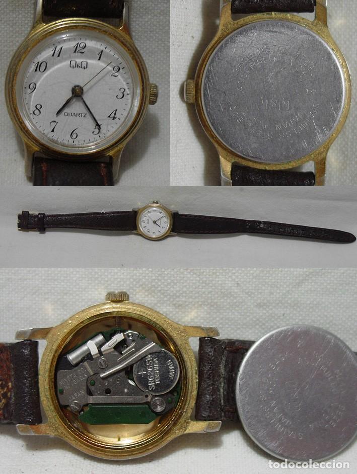 Relojes de pulsera: LOTE 10 RELOJES A PILA-THERMIDOR-DUWARD-REMEX- LACHAUME-Q Q-KORYTRON-CASIO-SEIKO-ARGOM- - Foto 10 - 136856830