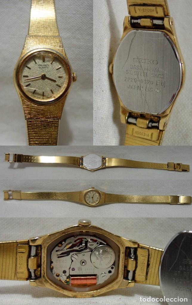 Relojes de pulsera: LOTE 10 RELOJES A PILA-THERMIDOR-DUWARD-REMEX- LACHAUME-Q Q-KORYTRON-CASIO-SEIKO-ARGOM- - Foto 11 - 136856830