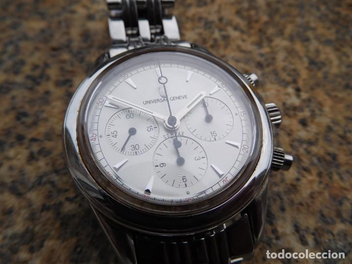RELOJ CRONOGRAFO MANUAL DE LA MARCA UNIVERSAL GENEVE MODELO COMPAX (Relojes - Pulsera Carga Manual)