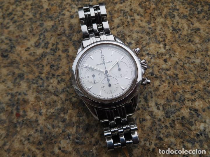 Relojes de pulsera: Reloj cronografo manual de la marca Universal Geneve modelo compax - Foto 2 - 137123994