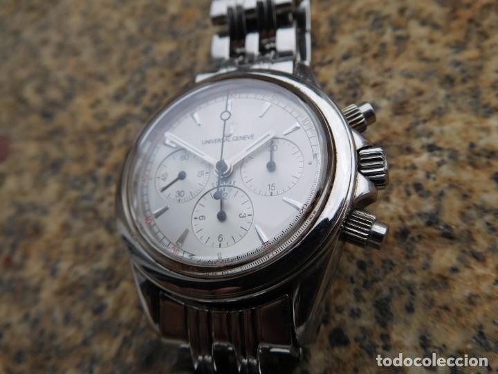 Relojes de pulsera: Reloj cronografo manual de la marca Universal Geneve modelo compax - Foto 3 - 137123994