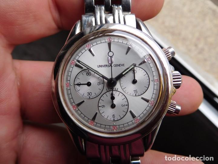 Relojes de pulsera: Reloj cronografo manual de la marca Universal Geneve modelo compax - Foto 4 - 137123994