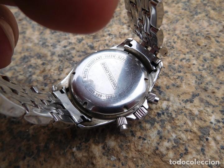 Relojes de pulsera: Reloj cronografo manual de la marca Universal Geneve modelo compax - Foto 9 - 137123994