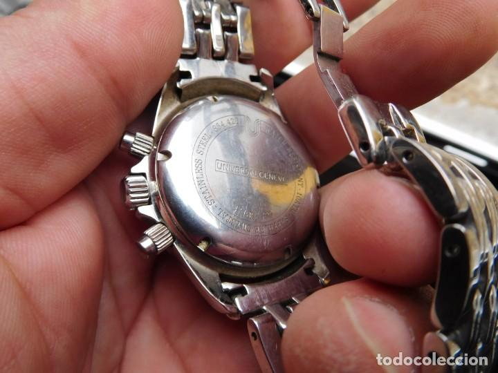 Relojes de pulsera: Reloj cronografo manual de la marca Universal Geneve modelo compax - Foto 11 - 137123994