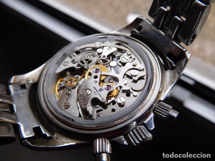 Relojes de pulsera: Reloj cronografo manual de la marca Universal Geneve modelo compax - Foto 13 - 137123994