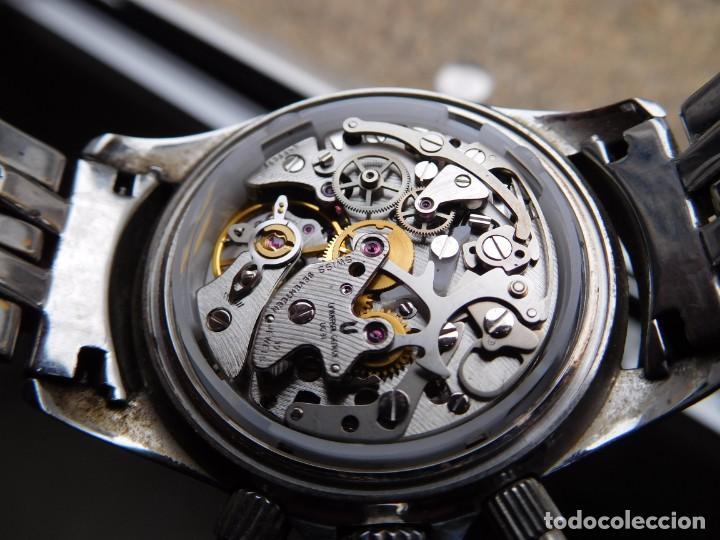 Relojes de pulsera: Reloj cronografo manual de la marca Universal Geneve modelo compax - Foto 14 - 137123994