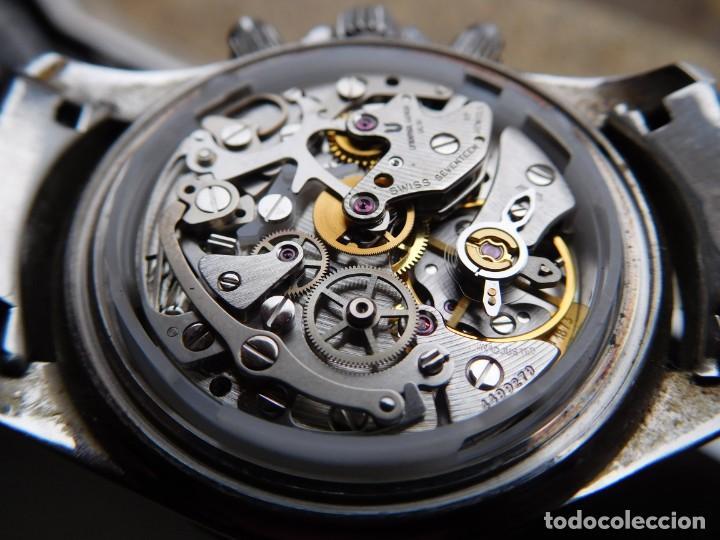Relojes de pulsera: Reloj cronografo manual de la marca Universal Geneve modelo compax - Foto 16 - 137123994