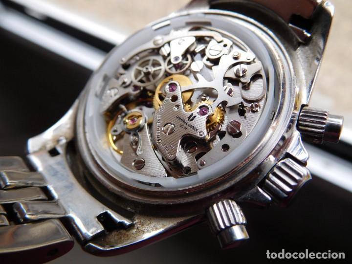 Relojes de pulsera: Reloj cronografo manual de la marca Universal Geneve modelo compax - Foto 17 - 137123994