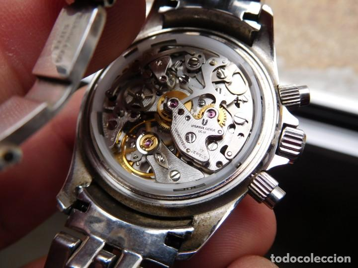 Relojes de pulsera: Reloj cronografo manual de la marca Universal Geneve modelo compax - Foto 18 - 137123994