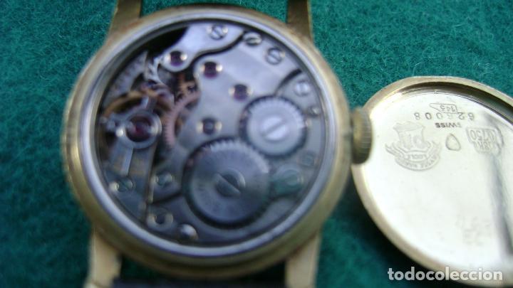 Relojes de pulsera: RELOJ ORO PARA DAMA ULYSSE NARDIN - Foto 9 - 20047148