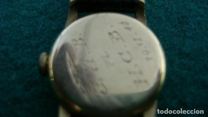 Relojes de pulsera: RELOJ ORO PARA DAMA ULYSSE NARDIN - Foto 10 - 20047148