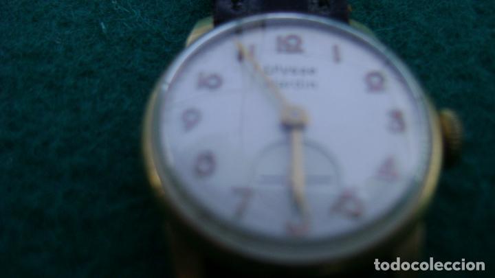 Relojes de pulsera: RELOJ ORO PARA DAMA ULYSSE NARDIN - Foto 11 - 20047148