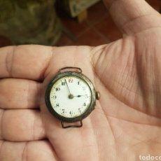 Relojes de pulsera: ANTIGUO RELOJ DE PULSERA DE PLATA 925 MILESIMAS SUIZO FUNCIONA POR FAVOR LEER DESCRIPCIÓN. Lote 137296812