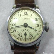 Relojes de pulsera: RELOJ CENSOR DE CARGA MANUAL 5 JEWELS SWISS MADE, PARA MUJER - NO FUNCIONA - CAJA 2 CM.. Lote 137330618