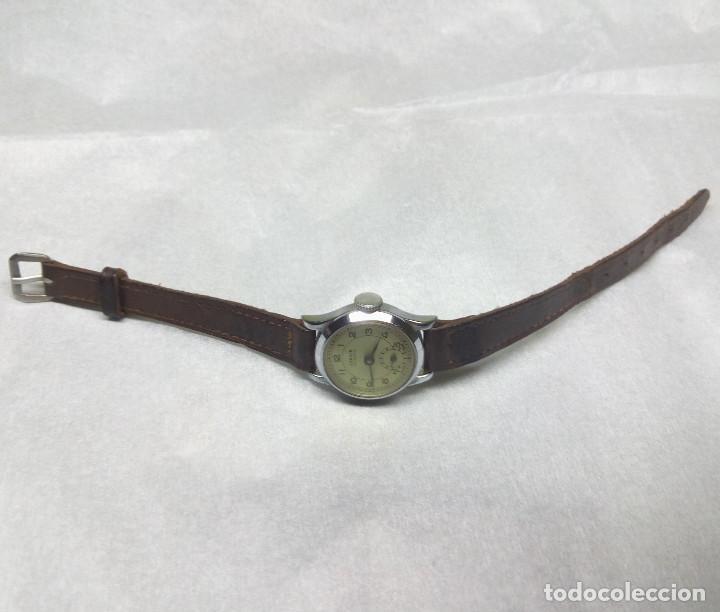 Relojes de pulsera: RELOJ CENSOR DE CARGA MANUAL 5 JEWELS SWISS MADE, PARA MUJER - NO FUNCIONA - CAJA 2 cm. - Foto 3 - 137330618