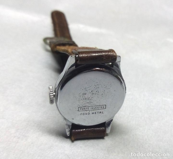 Relojes de pulsera: RELOJ CENSOR DE CARGA MANUAL 5 JEWELS SWISS MADE, PARA MUJER - NO FUNCIONA - CAJA 2 cm. - Foto 4 - 137330618