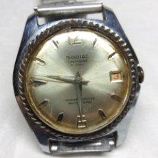 Relojes de pulsera: RELOJ VINTAGE RODIAL DE CARGA MANUAL 23 JEWELS, SWISS MADE - FUNCIONANDO - CAJA 34 MM.. Lote 137431738