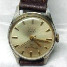 Relojes de pulsera: RELOJ ANKER CARGA MANUAL 17 SHOCKPROOF - CAJA 25 MM. - FUNCIONANDO. Lote 137641274