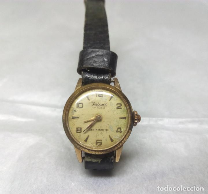 Relojes de pulsera: RELOJ RADIANT CARGA MANUAL 17-J SWISS MADE - CAJA 2 cm. - FUNCIONANDO - Foto 2 - 137641802