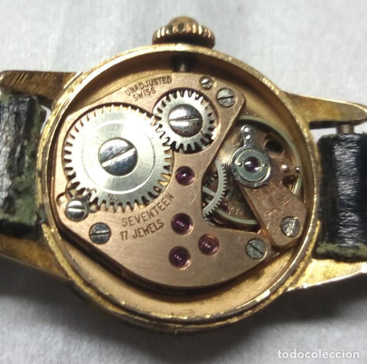 Relojes de pulsera: RELOJ RADIANT CARGA MANUAL 17-J SWISS MADE - CAJA 2 cm. - FUNCIONANDO - Foto 5 - 137641802