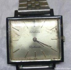 Relojes de pulsera: RELOJ DUWARD DIPLOMATIC DE CARGA MANUAL 15-R, SWISS MADE - CAJA 3 CM. - FUNCIONANDO. Lote 137642498