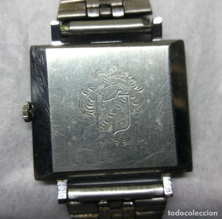 Relojes de pulsera: RELOJ DUWARD DIPLOMATIC DE CARGA MANUAL 15-R, SWISS MADE - CAJA 3 cm. - FUNCIONANDO - Foto 3 - 137642498