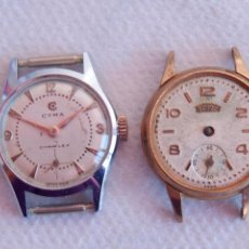 Relojes de pulsera: LOTE DE 4 RELOJES DE DAMA 2 CYMA TECHNOS SERTY C12. Lote 137885378