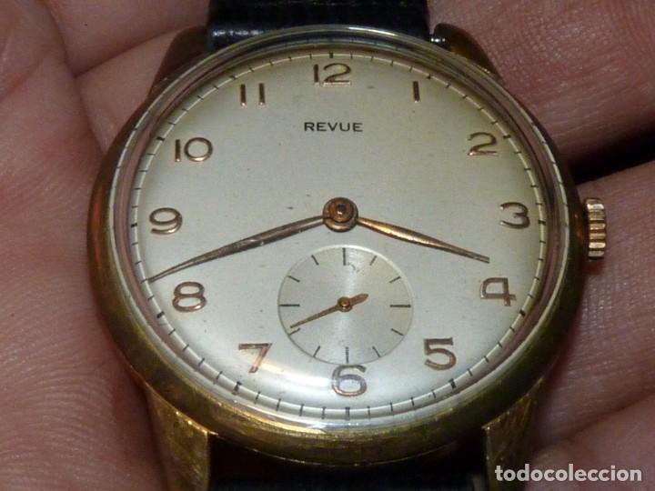 Relojes de pulsera: ELEGANTE RELOJ REVUE CALIBRE 59 RARO 21 RUBIS AÑOS 60 COLECCION - Foto 3 - 137937870
