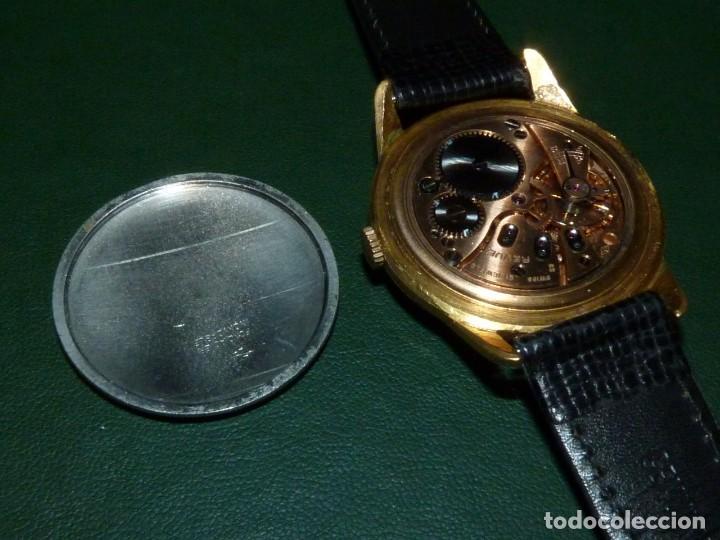Relojes de pulsera: ELEGANTE RELOJ REVUE CALIBRE 59 RARO 21 RUBIS AÑOS 60 COLECCION - Foto 5 - 137937870