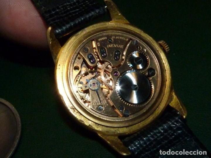 Relojes de pulsera: ELEGANTE RELOJ REVUE CALIBRE 59 RARO 21 RUBIS AÑOS 60 COLECCION - Foto 7 - 137937870