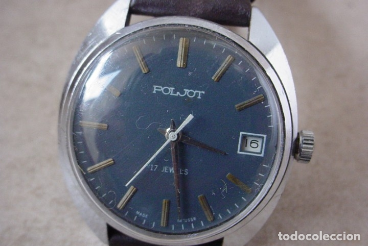 RELOJ MANUAL RUSO POLJOT, UNION SOVIETICA (Relojes - Pulsera Carga Manual)