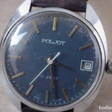 Relojes de pulsera: RELOJ MANUAL RUSO POLJOT, UNION SOVIETICA. Lote 137956253