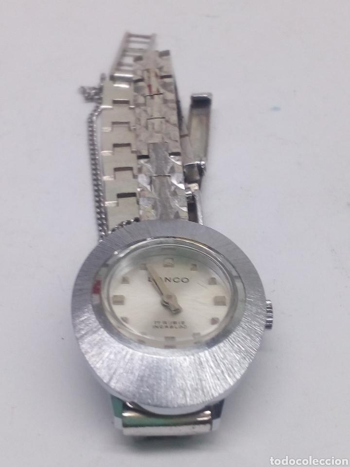 Relojes de pulsera: Reloj Lanco 17 rubis en funcionamiento vintage - Foto 4 - 137969342