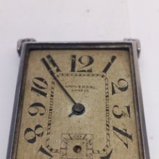 Relojes de pulsera: RELOJ UNIVERSAL GENEVE CARGA MANUAL MECANISMO PARA PIEZAS. Lote 142770130