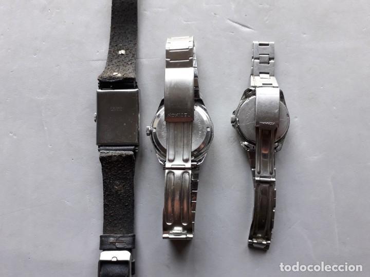 Relojes de pulsera: Lote 3 relojes mecánicos para caballero - Foto 2 - 138177318