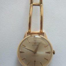 Relojes de pulsera: CYMA ORO, ANTIGUO RELOJ. MUY POCO COMÚN, MEDIADOS DEL S.XX.. Lote 138608130
